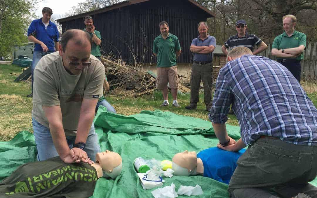 Emergency First Aid at work + Forestry EFAW+F Lockerbie D&G
