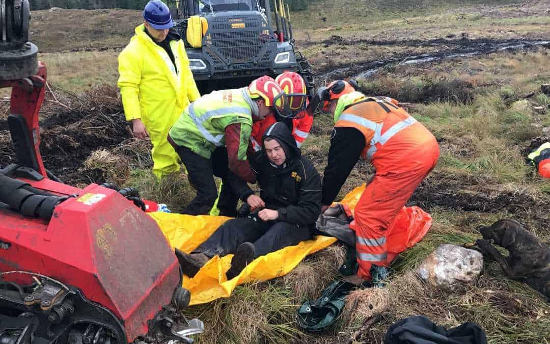 Emergency First Aid at work + Forestry EFAW+F Straiton Maybole