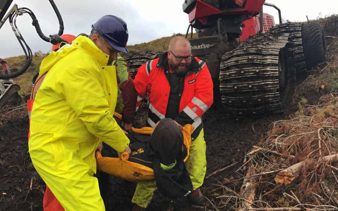 Emergency First Aid at Work with Forestry EFAW+F Dunblane