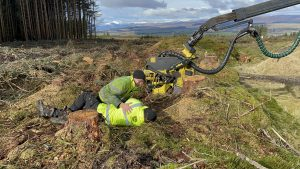 onsite forestry first aid trining in Scotland